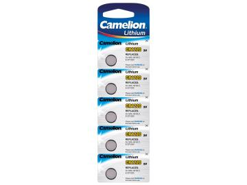 Lithium Knopfzelle CAMELION CR1220 3V, 12x2mm, 5er-Blister