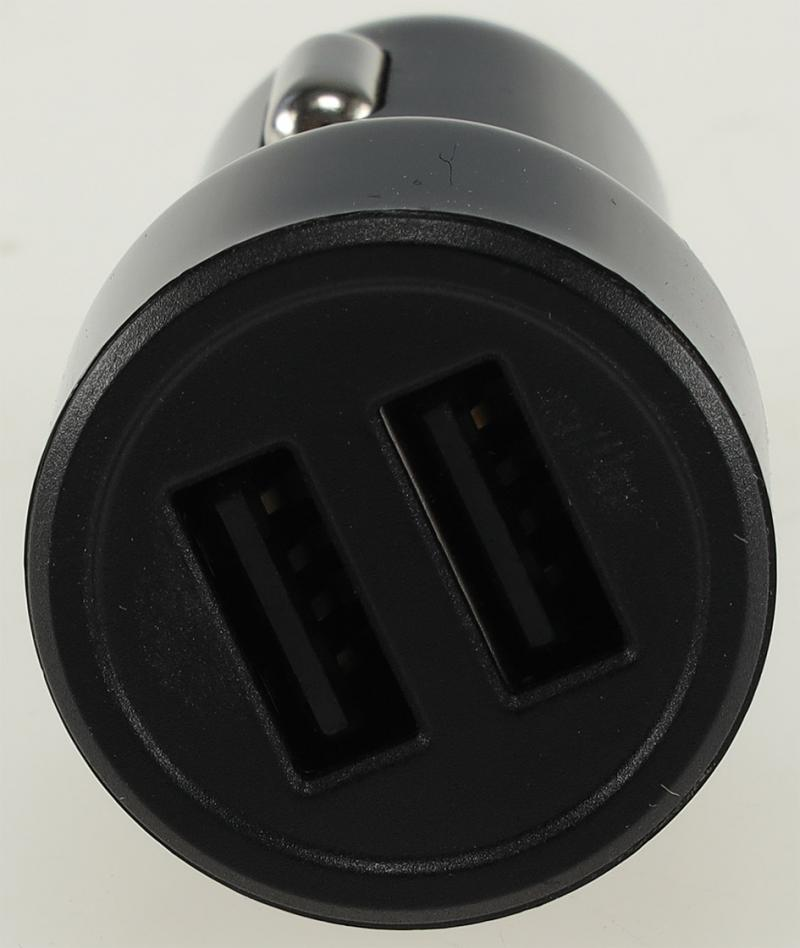 """USB Kfz-Ladegerät """"Duo 4,8A"""" 24W In 12-24V=, Out 5V= 4,8A, 2x USB"""