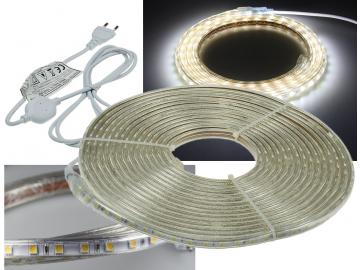 "LED-Stripe ""Ultra-Bright"" 230V, 10m 630 Lumen/Meter, weiß"
