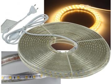 "LED-Stripe ""Ultra-Bright"" 230V, 20m 600 Lumen/Meter, warmweiß"