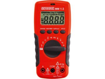 Digital-Multimeter MM 1-3 Benning